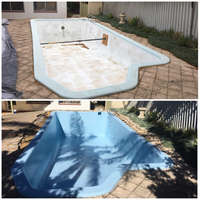 Before and After A full Fibreglass Resurface and Colour Upgradehellip